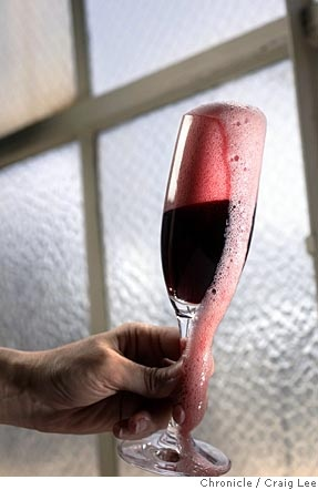 Red Sparkling Shiraz from down under.