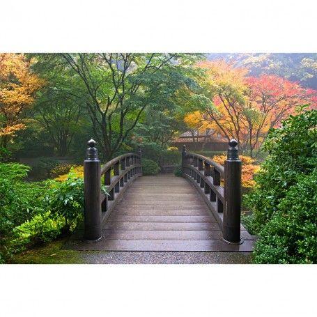 Marvelous Japanese Garden In Fall Wall Mural $56.99   Http://www.majesticwallart.