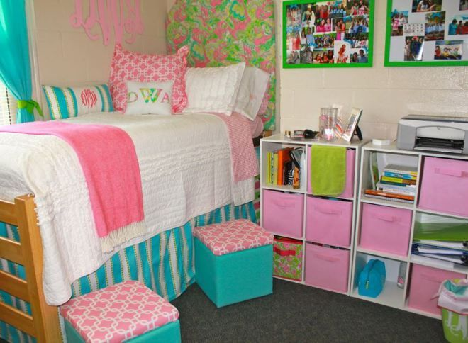 Dorm Decor by Style - Preppy 4