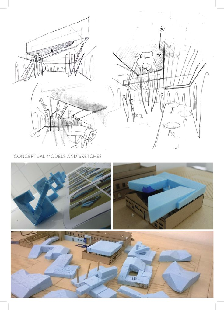sketches and conceptual models