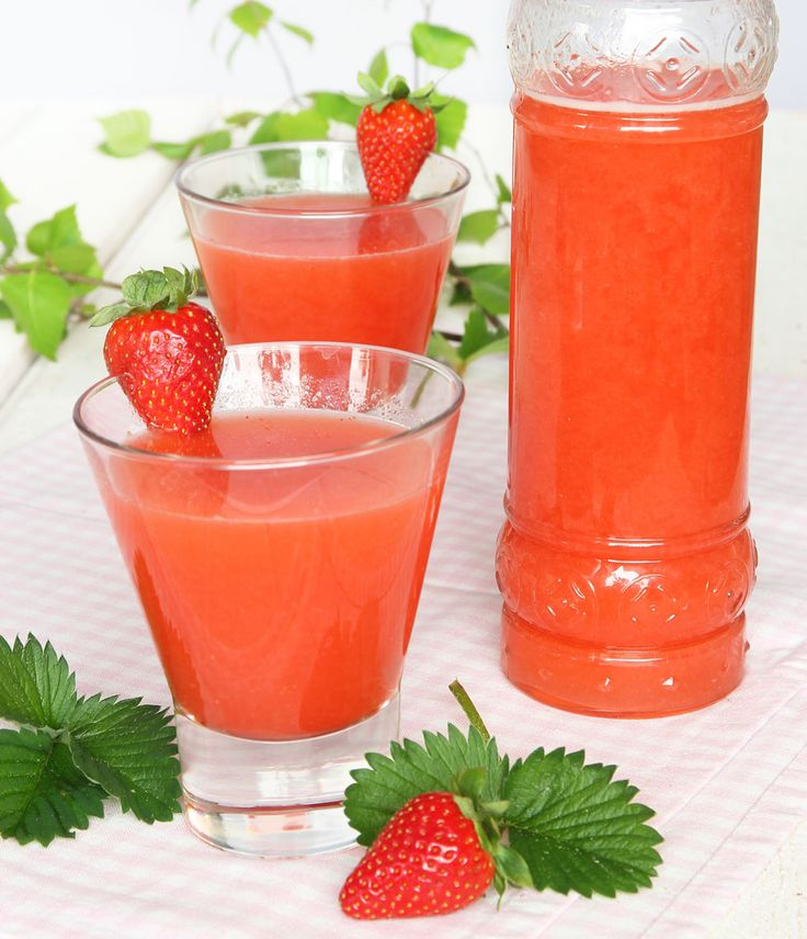 Lättsockrad jordgubbslemonad – Lindas Bakskola
