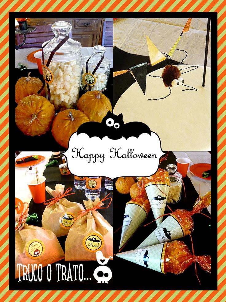 101 best ideas party of sorpresacharlotte images on pinterest ideas para fiestas ideas party - Fiesta halloween en casa ...