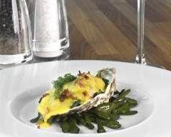 Huîtres grillées aux épices : http://www.cuisineaz.com/recettes/huitres-grillees-aux-epices-29293.aspx