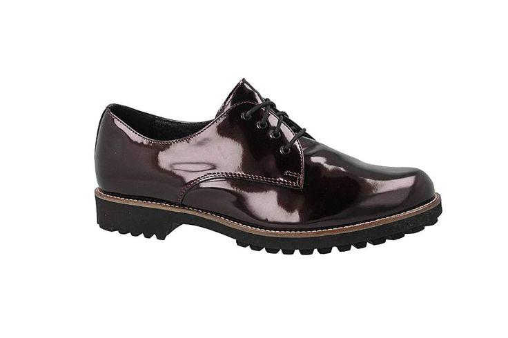 Oxford cipők LASOCKI - ADA-01 Bordó - Oxford - Félcipő - Női - www.ecipo.hu