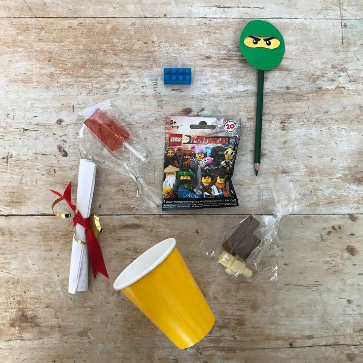 Lego Ninjago Party Ideas with Cineworld - som elovely ideas for thrifty Lego party treats you can DIY