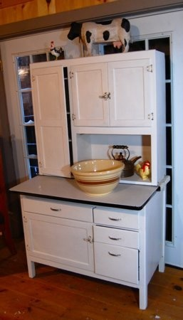 Love This Old Hutch! My Mom Has This Same One In Her Kitchen.