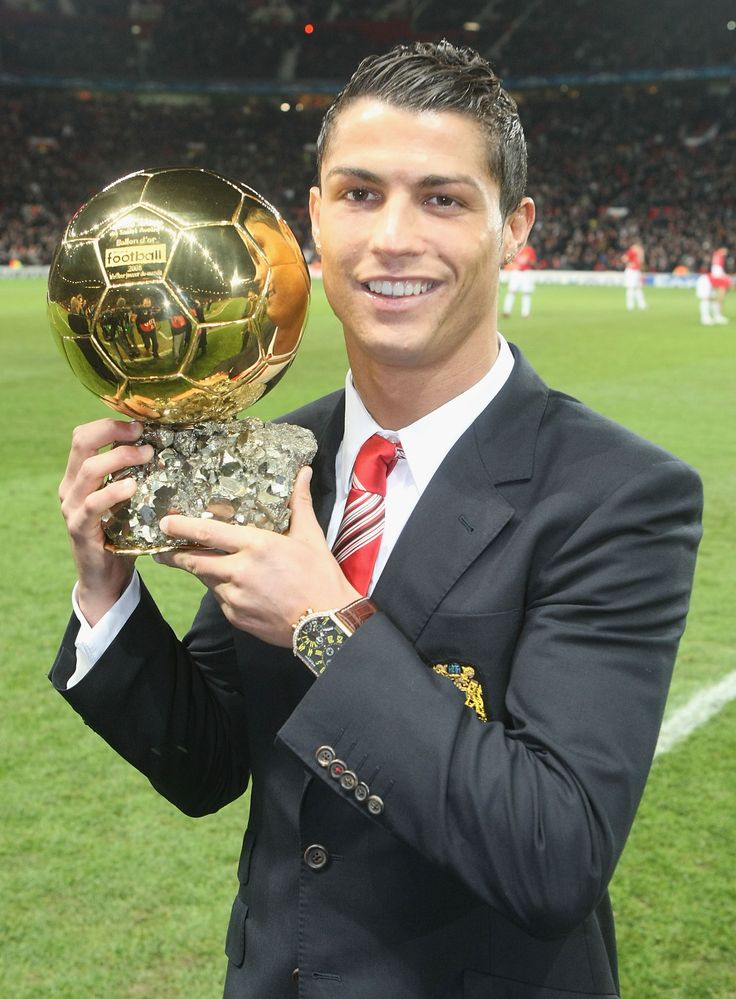 The best in the world: former @manutd no.7 Cristiano Ronaldo won the Ballon D'or for his stunning performances in 2008.