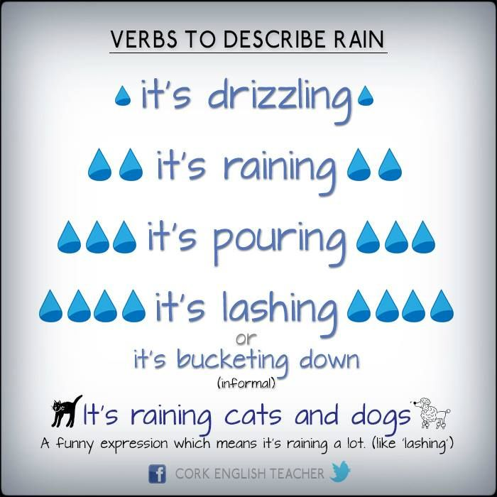 To start off your next rainy day teaching ESL | #TEFL