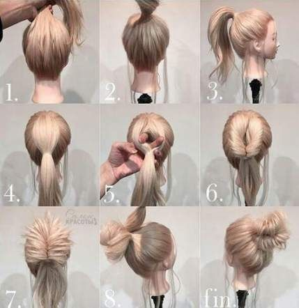 27+ Ideas Hair Easy Quick Simple Updo Hairstyle For 2019