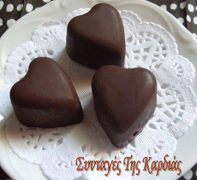 ΣΥΝΤΑΓΕΣ ΤΗΣ ΚΑΡΔΙΑΣ: Σοκολατάκια καρδούλες και όχι μόνο!!