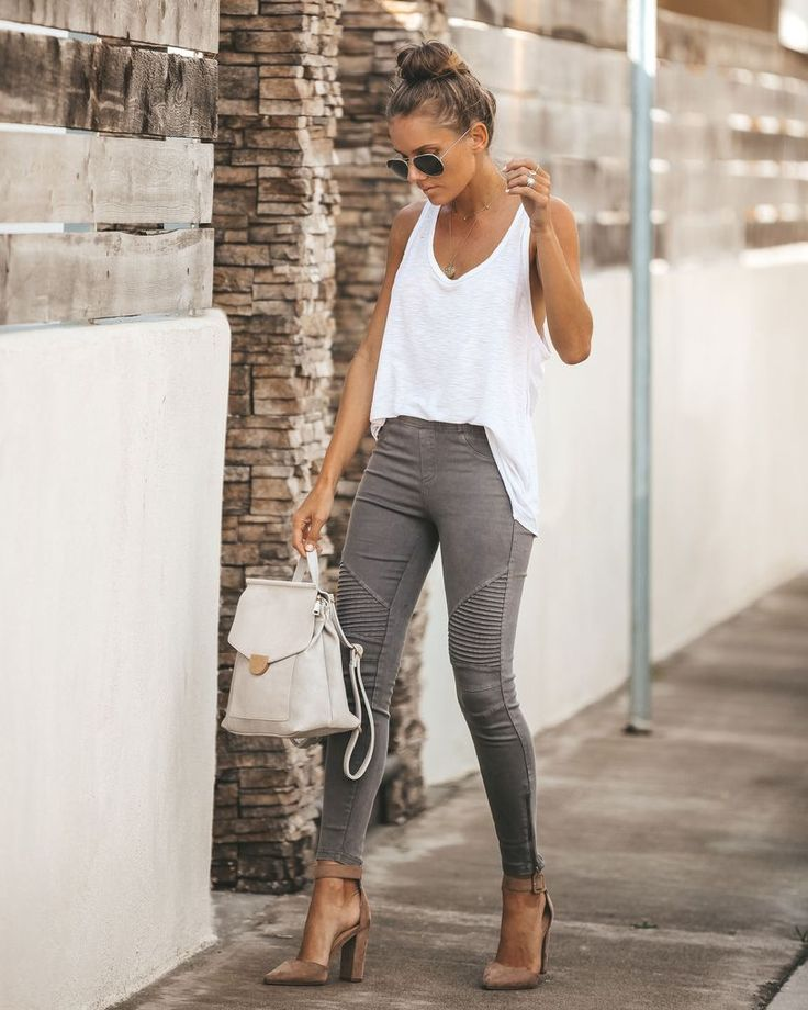 Piper Jegging – Dark Grey – #Dark #fashion #Grey #…