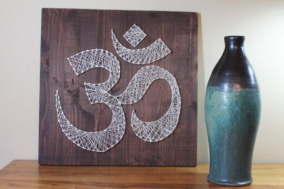 DIY Decor Om Meditation Design Pictures by StringArtTemplates