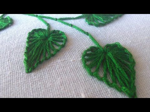 Hand Embroidery | Button Hole Stitch | HandiWorks #27 - YouTube