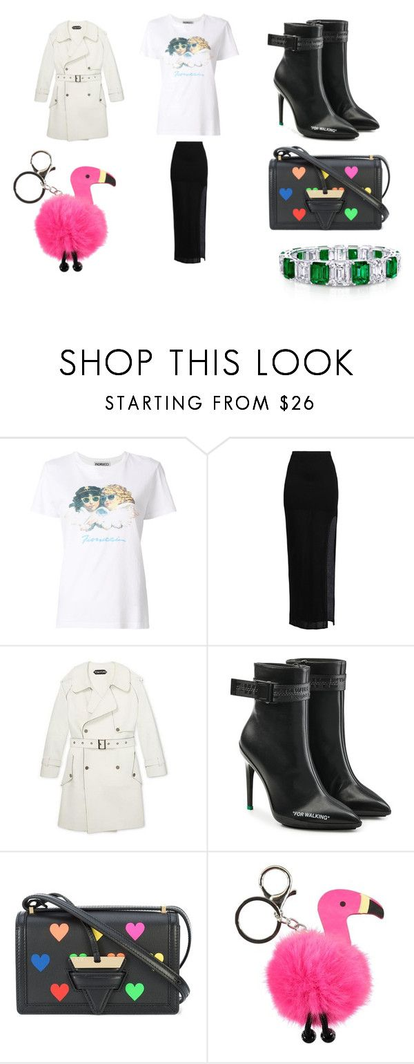 """""""Untitled #794"""" by gj3105 ❤ liked on Polyvore featuring Fiorucci, Helmut Lang, Off-White, Loewe and Molo"""