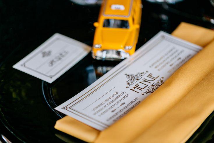 Hochzeitspapeterie | Hochzeitseinladung Manhattan Broadway Glamour Love ♥ Gold, 20er Jahre, gelb, Vintage, Hippie, Boho, zartmint design, Bonn, Köln, NRW, Deutschland, Schweiz, Österreich