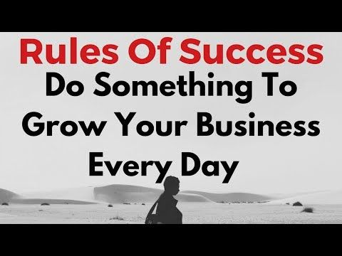 SFI Videos via You Tube: SFI 2nd Rule Of Success  Do Something To Grow Your...