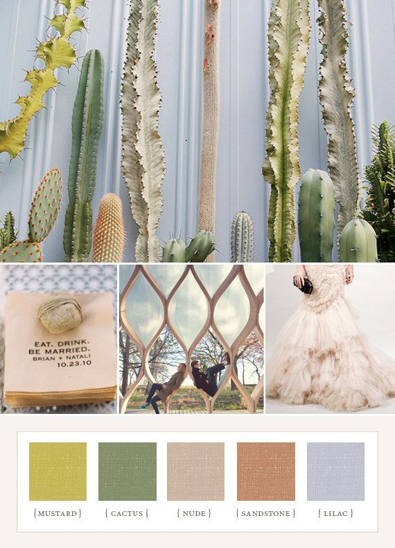 100 Layer Cake desert pastel colorboard