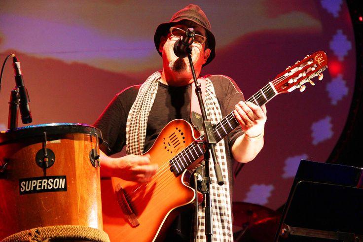 El cantante y compositor chileno Joe Vasconcellos.