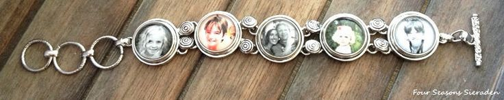 Custom Personalized Photo Bracelet, Ginger Snaps, Snap Charms, Photo Bracelet, Photo Jewelry, Valentine's day gift, Gift for her by FourSeasonsSieraden on Etsy