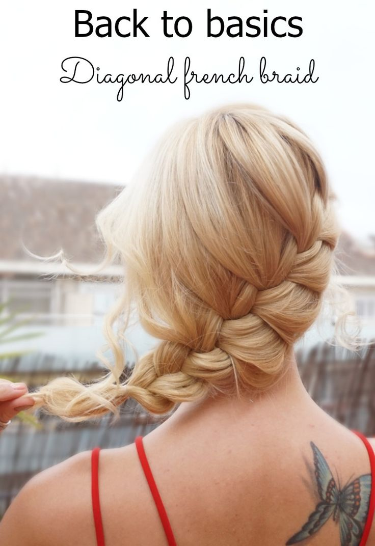 Out of ideas on hairstyles for Valentine's day? Why not take it back to basics with this loose and romantic french braid! Tutorial at https://hairsaffairs.com/3-easy-hairstyles-valentines-day