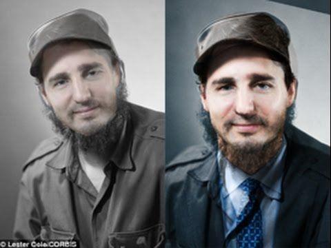 Fidel Castro Justin Trudeau's father? Conspiracy theory