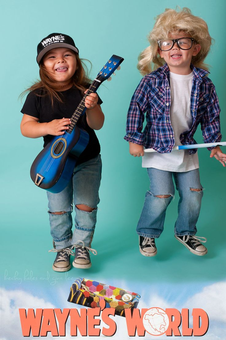You Must See Willow's All-New Collection of Adorable Halloween Costumes- The little girl who won Halloween last year with her incredible get-ups has done it again. Introducing Willow as Wayne from Wayne's World with the help of her good pal Garth. Check out all of her clever, totally original Halloween costumes at redbookmag.com.