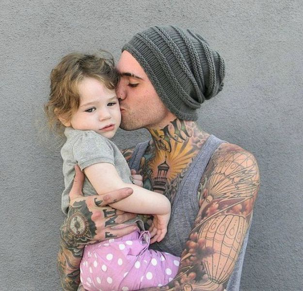 Best Tattooed Parents Images On Pinterest Awesome Tattoos - Artist visits sick children in hospital gives them amazing tattoos to cheer them up