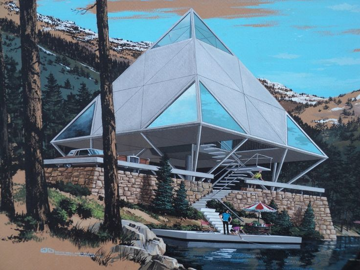 Diy pyramid house