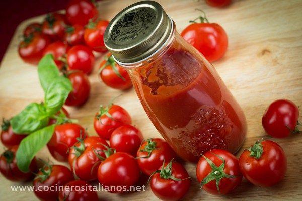Salsa de Tomate Casera (Pomodoro) Italiana