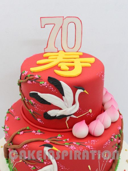 Best The Chinese Themed Cakes Images On Pinterest Themed Cakes - Birthday cake chinese style