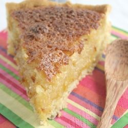 Coconut tart - a sweet South African treat