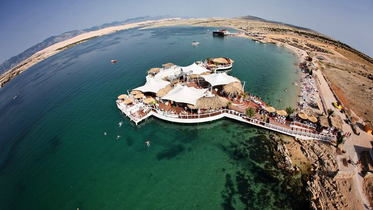 Zrce on island Pag | Party island | Pictures for desktop