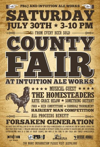 County Fair Poster Style Invitation Ignore The Ale And
