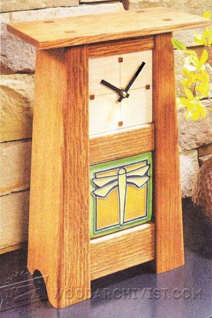Craftsman Clock Plans - Woodworking Plans and Projects | WoodArchivist.com