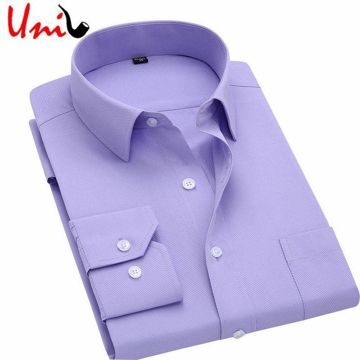 Long Sleeve Slim Men Dress Shirt 2016 Brand New Fashion Designer High