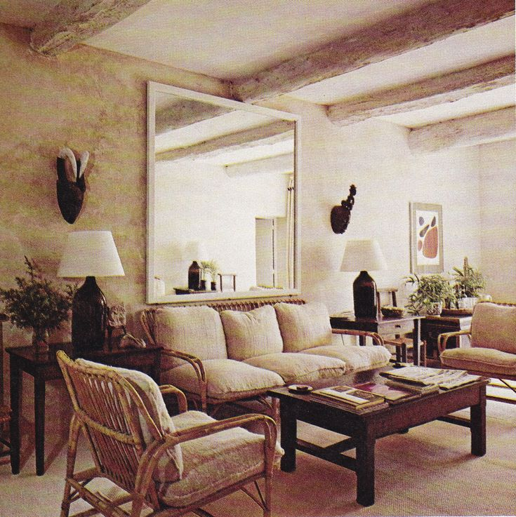 Van Day Truexu0027s Cottage, Chaumet, In Gargas, Provence. Photo By Michael  Boys. The New York Book Of Interior Design And Decoration,