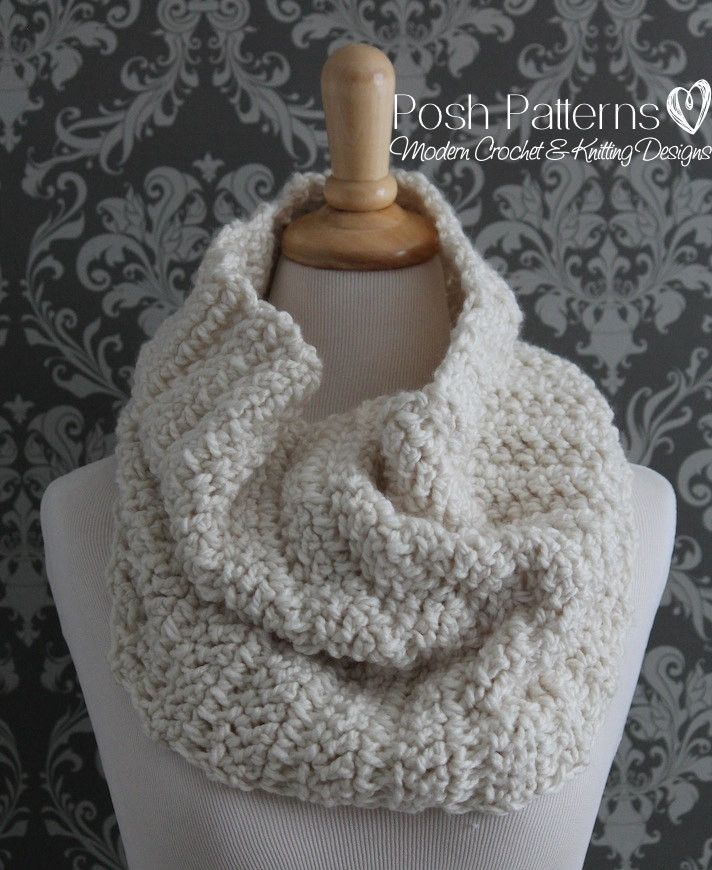 54 Best Cowl Scarf Crochet Patterns Knitting Patterns Images On