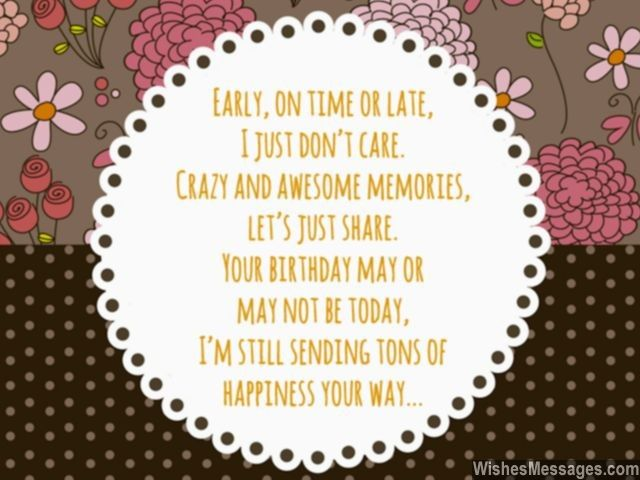 11 Best Pregnancy Wishes Quotes And Poems Wishesmessages: Happy Birthday In Advance: Early Birthday Wishes
