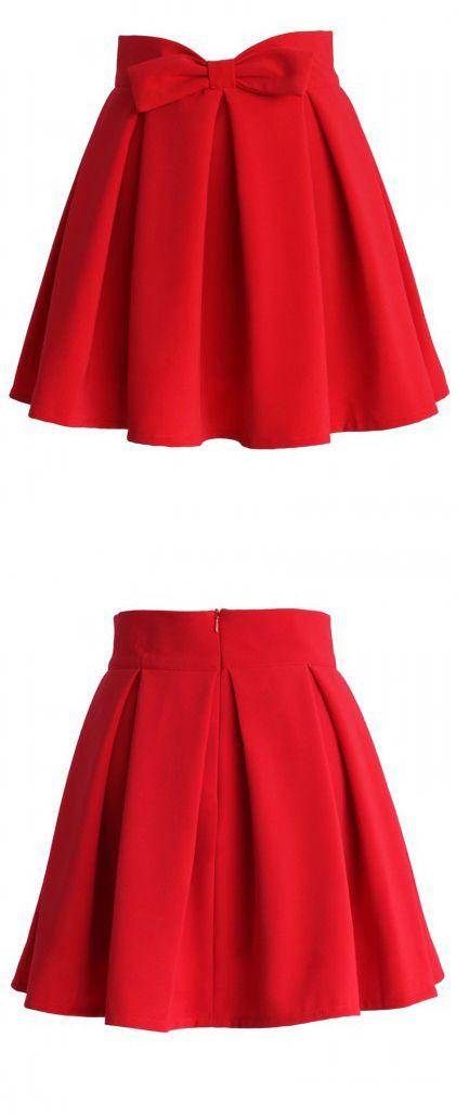 red skirt bling bling. makes u look sooo glowing.see more on choies.com:)))))