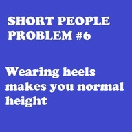 short people problems @Michelle Flynn Lewis @Amber buxton love my short friends!!! :)