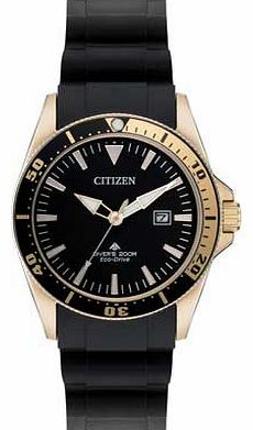 Citizen Mens Black Gold Divers Watch The Eco Drive collection from Citizen Watches has a simple. environmentally friendly concept. By harnessing power from natural and artificial light sources. the watch converts light to energy. meaning http://www.comparestoreprices.co.uk/mens-watches/citizen-mens-black-gold-divers-watch.asp