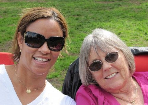 My step-mom stepped in after my mom died and helped me find my life again