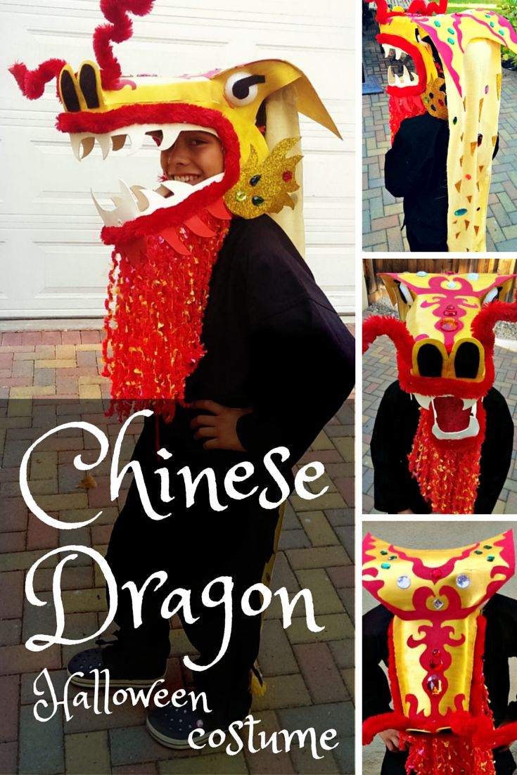 How To Make A Dragon Head From Craft Foam (great For Chinese New Year Or
