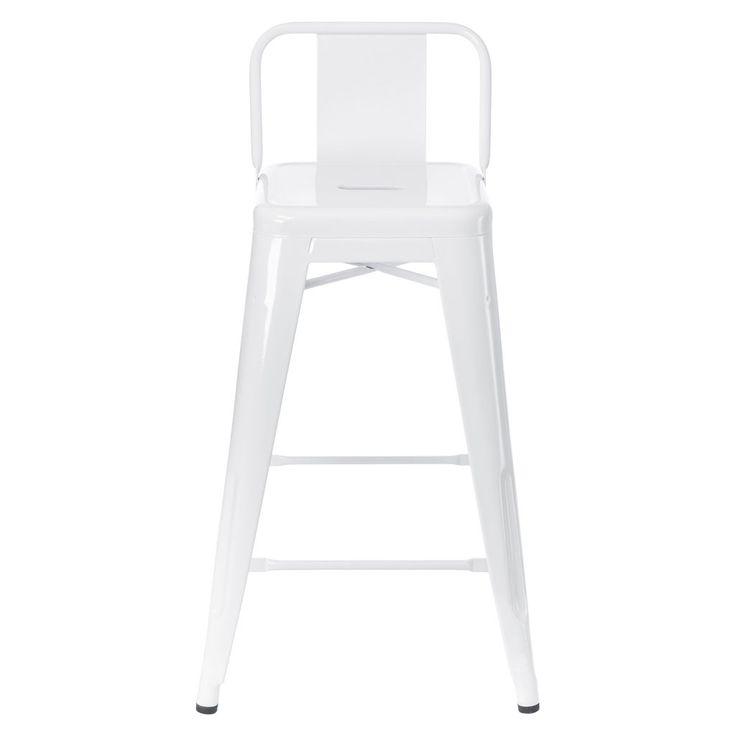 Tolix Low Back Stool in White - Chairs Stools u0026 Benches - Furniture - Furniture  sc 1 st  Pinterest & 54 best Bar stools images on Pinterest | Metal bar stools Metal ... islam-shia.org