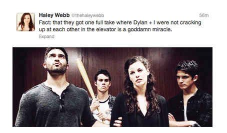 "...having fun... | Tumblr vs. A New ""Teen Wolf"" Episode"