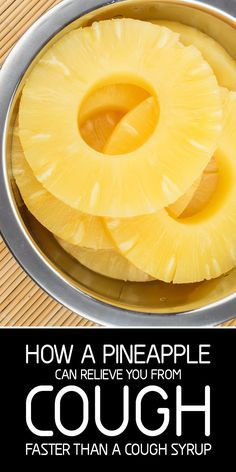 How A #Pineapple Can Relieve You From #Cough Faster Than A Cough SyrupYenel Valdes