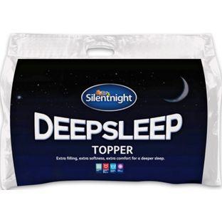 Buy Silentnight Deep Sleep Mattress Topper - Double at Argos.co.uk - Your Online Shop for Mattress toppers.17,49
