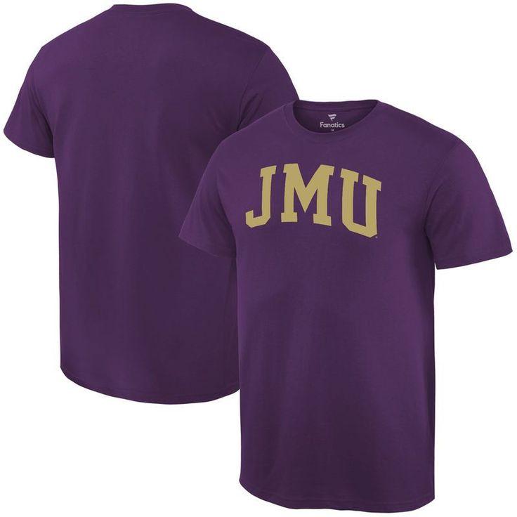 James Madison Dukes Fanatics Branded Basic Arch Expansion T-Shirt - Purple