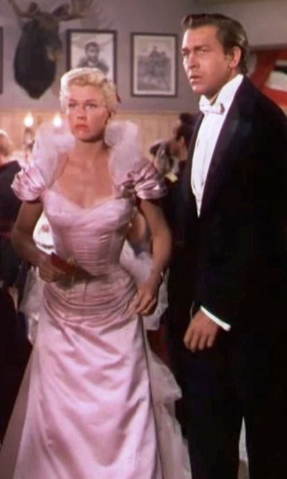 """Doris Day and Howard Keel """"Calamity Jane"""" My all time favorite film of hers."""