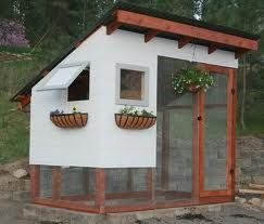 chicken coops - Go Figure ,The Droppings Make Wonderful Compost !~